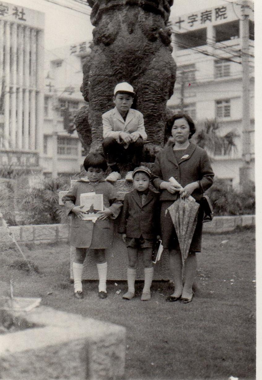 1969年家族写真